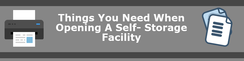 Things You Need When Opening a Facility
