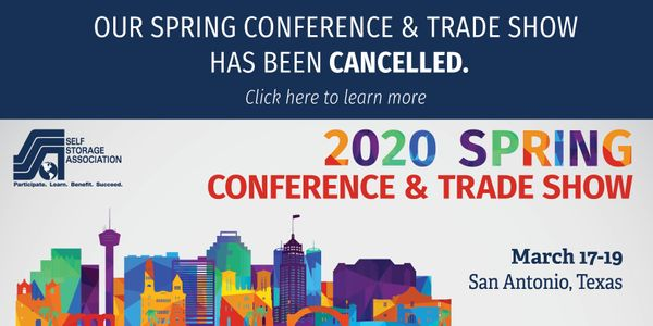 SSA 2020 Spring Conference & Trade Show Has Been Cancelled